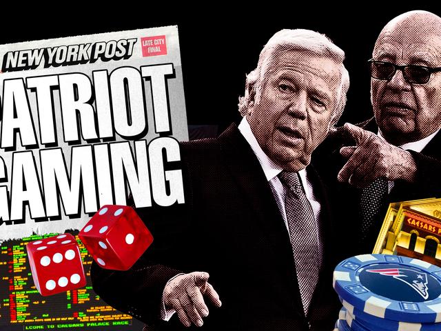 Dette er historien om Robert Kraft's Casino Holdings, at Rupert Murdochs papir aldrig raner