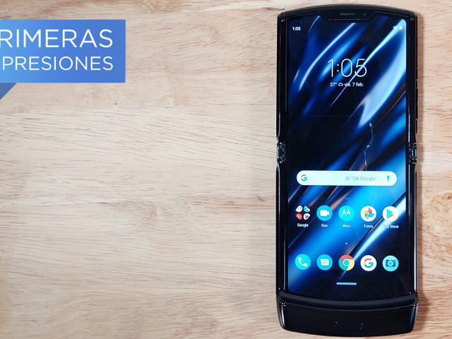 Motorola Razr er den første foldbare telefon, der giver mening, men ... vil det være nok?