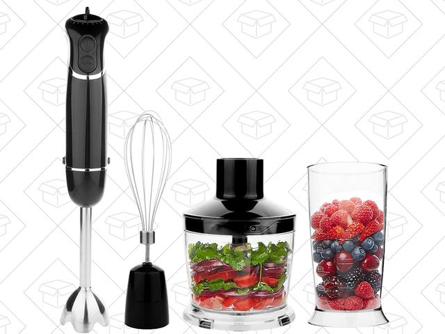 This Hand Blender Can Do It All For Just $30
