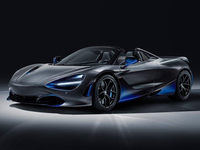 This McLaren 720S Spider Is Here to Remind You How Rad Gradient Paint Is