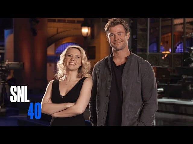 Watch Kate McKinnon and Chris Hemsworth Try the Dirty Dancing Lift