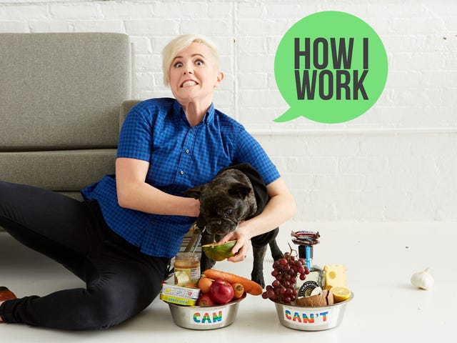 I'm Hannah Hart, Creator of My Drunk Kitchen, and This Is How I Work