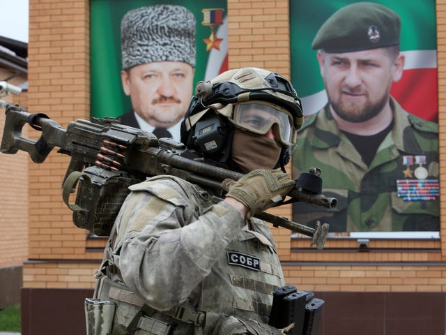 The Warlords Who Rule Chechnya And Bahrain's Repressive Regime Are Bonding Over MMA