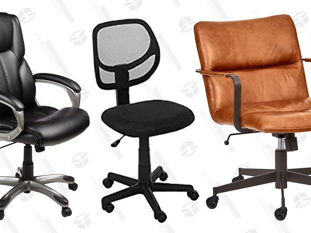 Put A Nice Chair In Your Home Office For Up To 30% Off Today