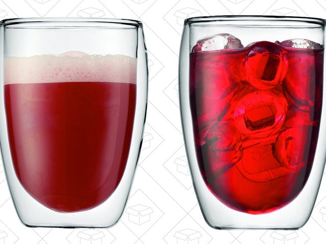 Bodum's Temperature-Maintaining Glass Tumblers Are Cheaper Than Ever