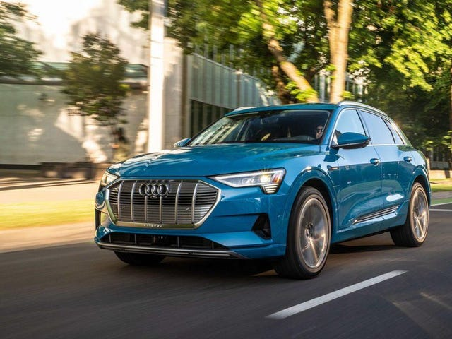 Drove an e-tron: some thoughts