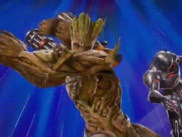 Rocket Raccoon Wrecking Ultron ใน Marvel vs Capcom Infinite คือ Age of Ultron ควรจะจบลงอย่างไร
