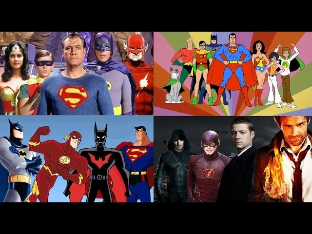 Every Intro To Every DC Comics TV Series Ever