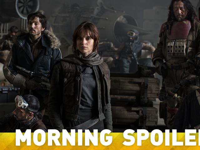 Har vi allerede lært navnet på Felicity Jones ' Rogue One Character?