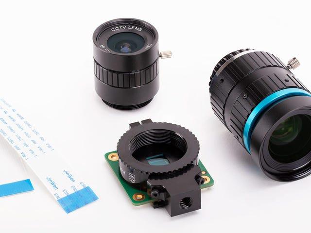 Raspberry Pis seneste oprettelse er et $ 50 kamera i høj kvalitet