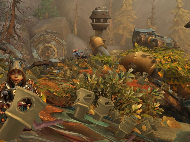 My New Favorite World Of Warcraft Spot Is A Junk Pile