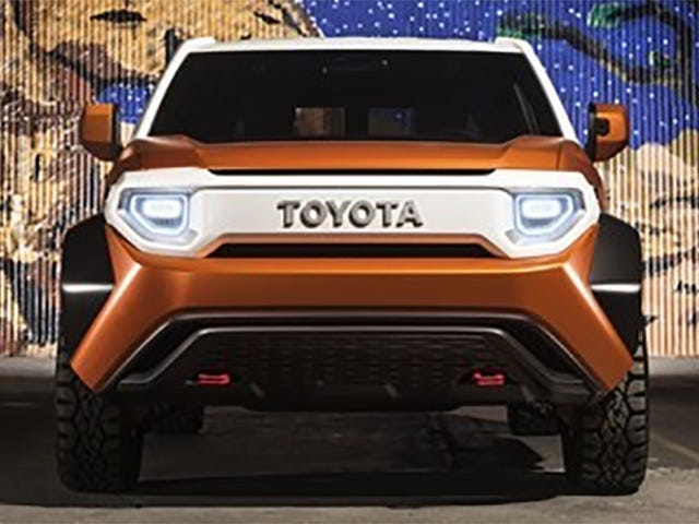 The Toyota FT-4X Is Exactly What You Were Afraid Of