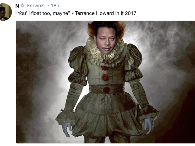 Terrence Howard 'Mayne Memes' Are Social Media's Early Holiday Gifts