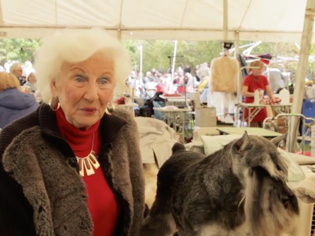 Eine 81-jährige Schnauzer-Königin ist der Brennpunkt im Krieg zwischen Hundebrütern und Tierrechtsaktivisten