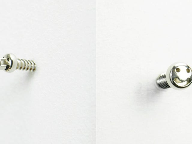 These Smiley Face Screws Are Wildly Impractical But Utterly Adorable