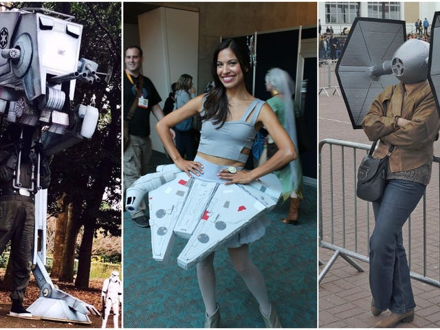 The People Who Cosplay As Star Wars Vehicles