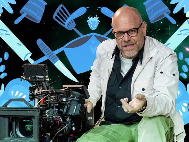 Alton Brown på tilbakekomsten av Good Eats, filmskaping og omfavnelse wankiness