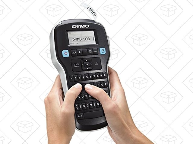 This DYMO Label Maker Is Back In Stock For $11, If You Hurry