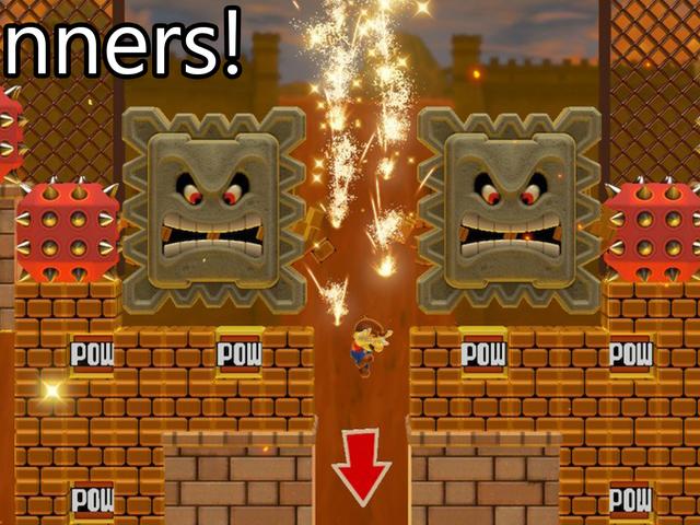 Mario Maker -kilpailu: Liian monta potkuria, voittajat!