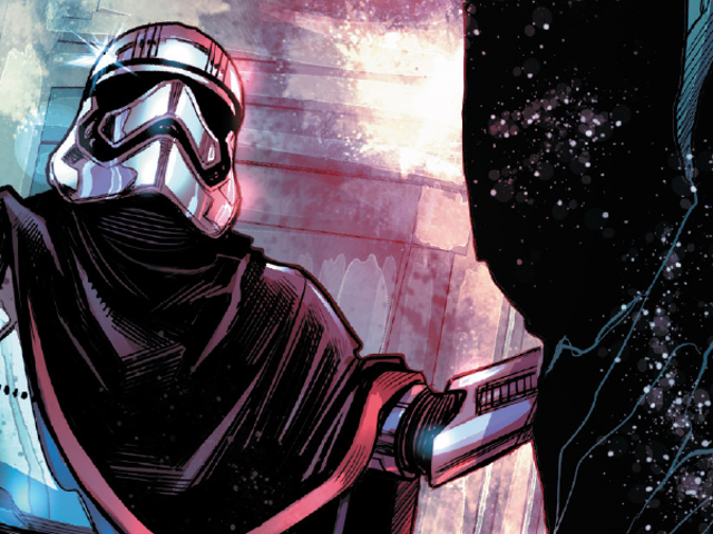 Now We Know How Captain Phasma Escaped Starkiller Base at the End of The Force Awakens: Very Quickly