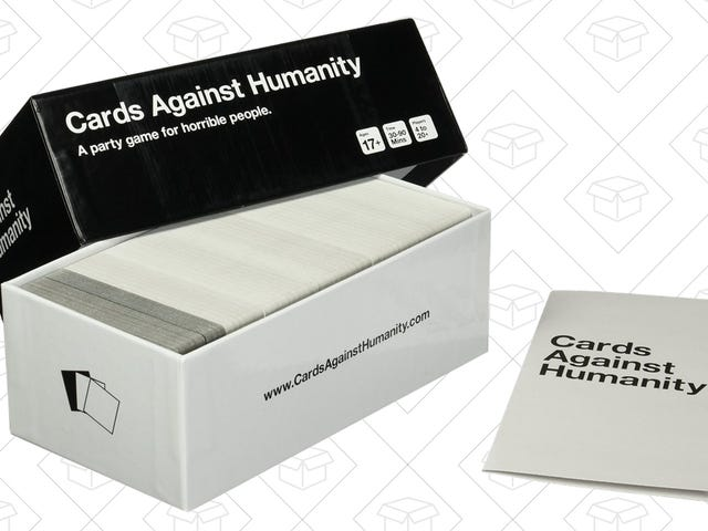 Alienate Friends and Family For Just $17 With Cards Against Humanity