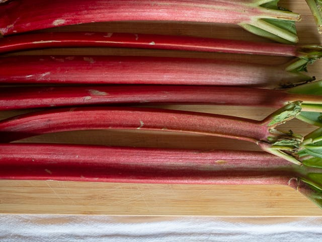 Ditch The Strawberries And Make This Rhubarb Cake