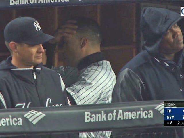 Les Yankees Fans incessamment Boo Giancarlo Stanton après l'arrivée de nouveaux enregistrements Platinum Sombrero