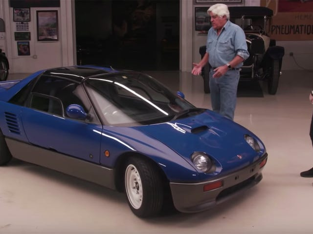 Learn Everything About the Autozam AZ-1 With Jay Leno