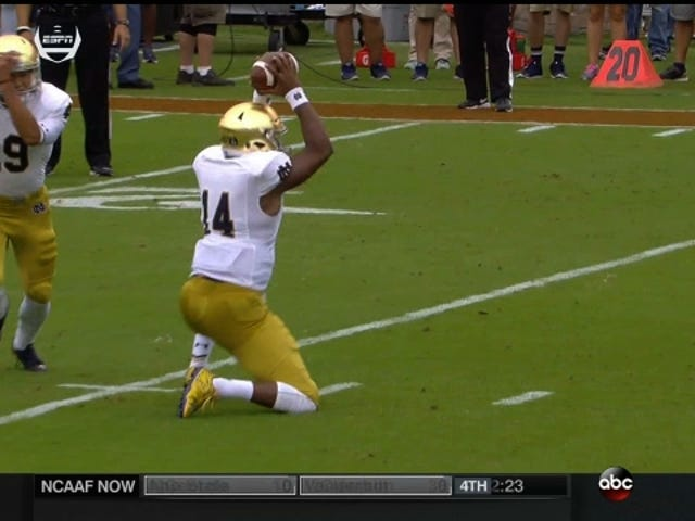 Notre Dame Scores Touchdown On Extremely Well-Designed Fake Field Goal
