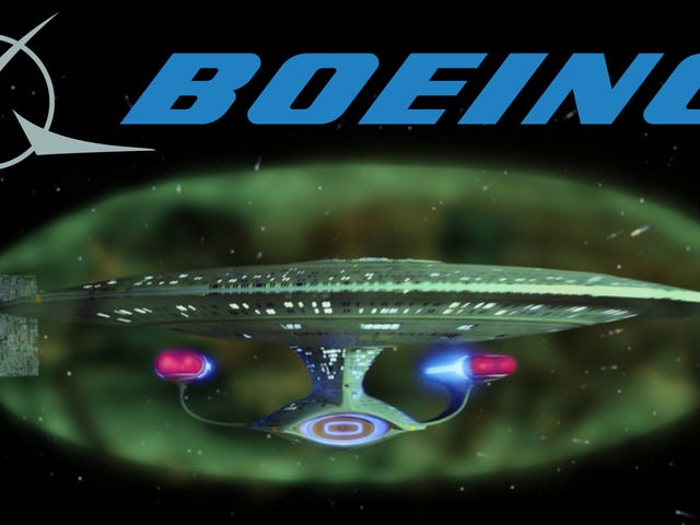 Boeing Patents <i>Star Trek-</i>Like Force Field Technology For Vehicles