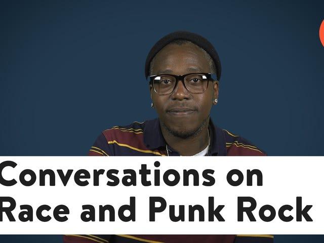 """""""Kan någon festa som jag existerar?"""": En svart konstnär blir riktigt om Race och Punk Rock"""