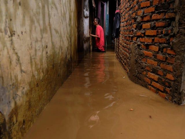 Endonezya Ölümcül Taşkınlar Sırasında Yağmurları Durdurmak İçin Hava Kontrolüne Dönüyor