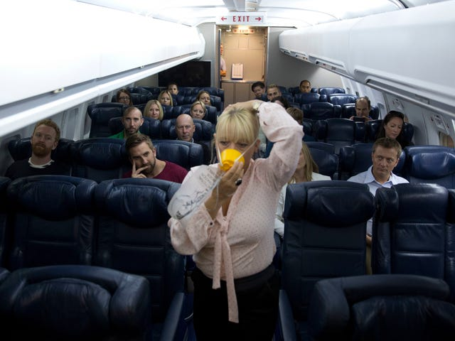 Reminder: Your Oxygen Mask Should Go Over Your Mouth andNose