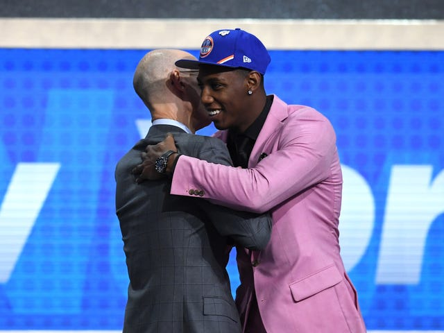 RJ Barrett Self-Diagnoses Terminal Kobe Brain After Being Drafted By Knicks