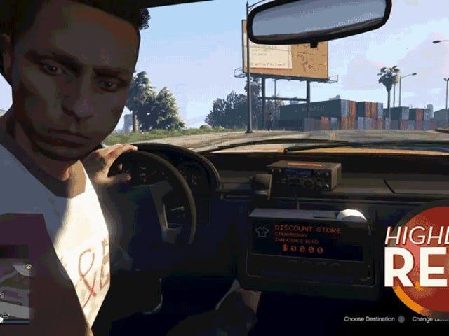 <i>GTA</i> Cabbie, вероятно, должен держать глаза на дороге