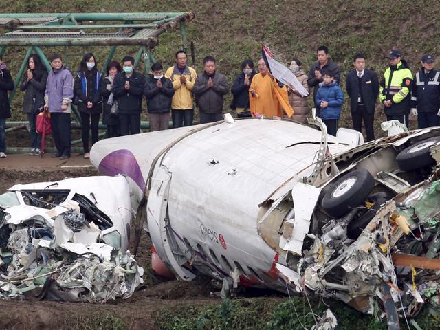 El avión de TransAsia se quedó sin los dos motores antes del accidente
