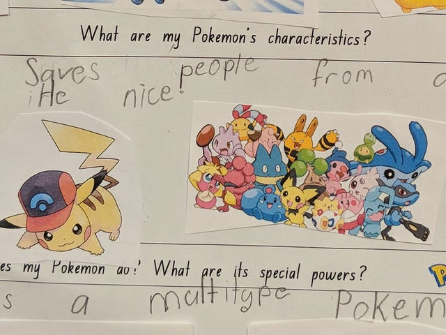 When A Classroom Learns About Pokémon