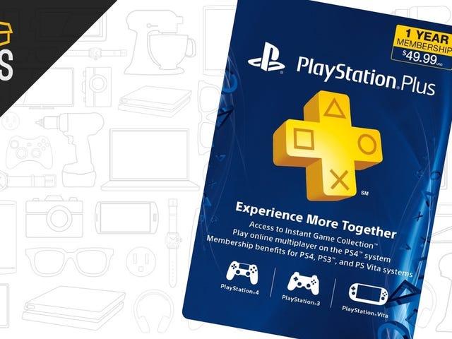 Perpanjang Keanggotaan PlayStation Plus Anda Dengan $ 43