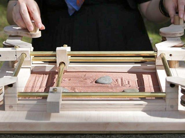 DIY Etch एक स्केच क्रैपी ड्रॉइंग के बजाय टिनी ज़ेन गार्डन बनाता है