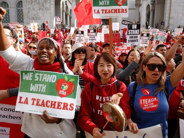 Hvad Los Angeles-lærerne vandt