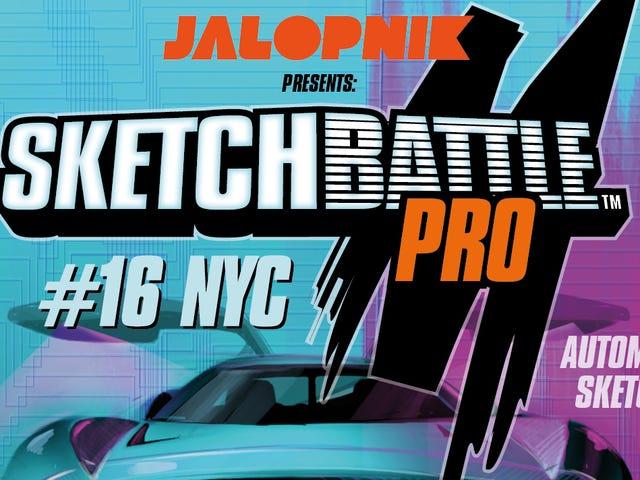 Chúng tôi sẽ tham gia Câu lạc bộ chiến đấu về thiết kế xe hơi trong triển lãm ô tô New York và bạn nên đến