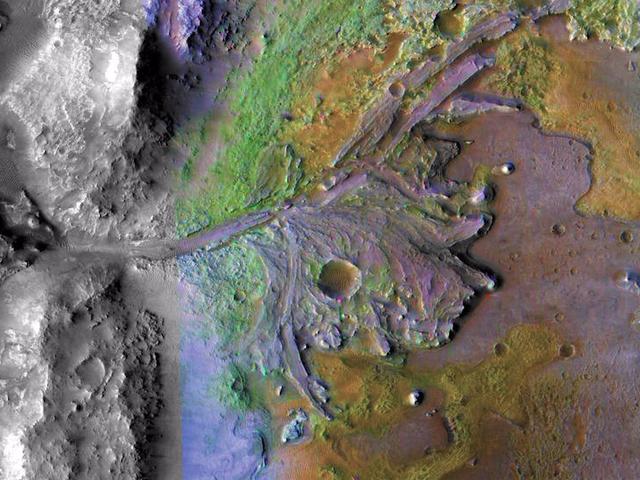 Mars 2020 Rover của NASA sẽ hạ cánh xuống miệng núi lửa Jezero