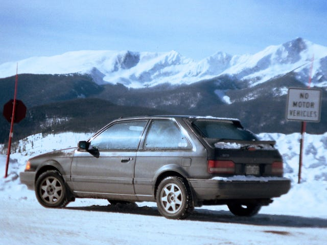 Group A Ghost: the Mazda 323 GTX