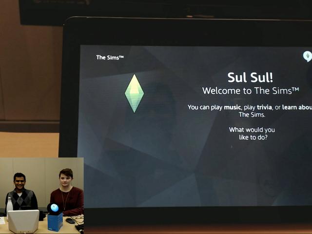 Officiell Sims Smart Speaker App kommer att förstå Simlish