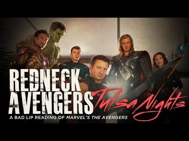 Redneck Avengers bergaduh dalam bacaan Bad Lip terbaru