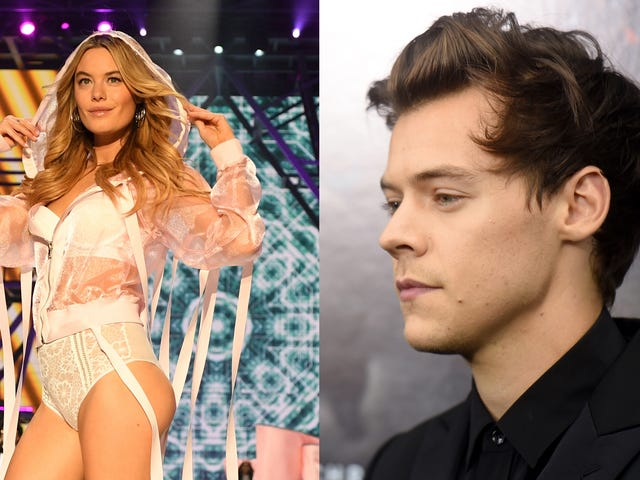 Is Harry Styles 'Besotted' With a Victoria's Secret Angel? All Signs Point to Yes!