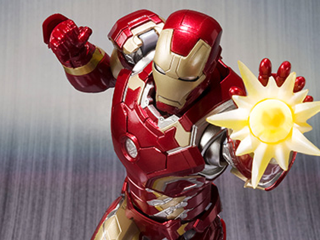 Bandai's <i>Age Of Ultron</i> Iron Man Figure Is Gloriously Good