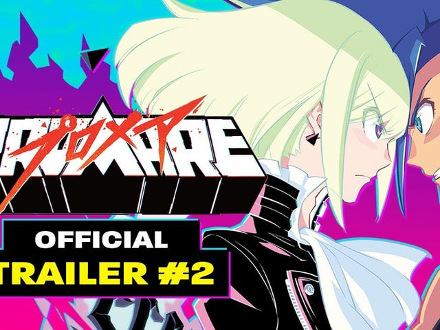 Here's Your First Look at the English Cast of Promare