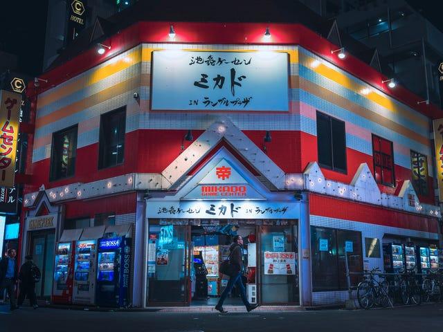 Japanese Arcades Light Up The Night