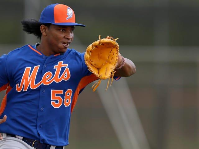 Mets Closer Jenrry Mejía suspendió 80 juegos para uso de esteroides